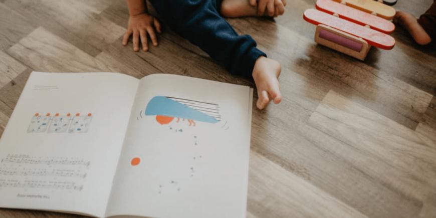 Od czego zacząć naukę nut z dzieckiem? Krok 1.